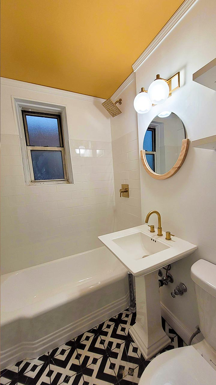 AFTER PIC OF BATHROOM AT 340 HAVEN AVE